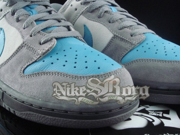 Nike Dunk Low Blue Pigeon Sample