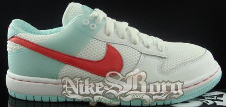 New Nike Dunkesto Blue/Red Samples
