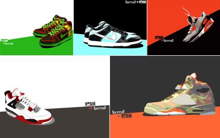 Format x FYSH Sneaker Wall Paper