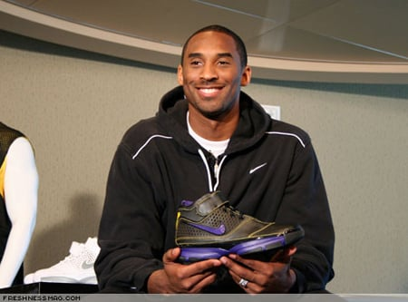 Last weekend Kobe Bryant was scheduled to unveil the Nike Zoom Kobe II,