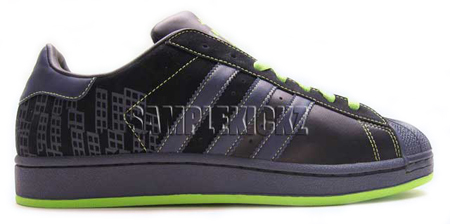 Adidas Superstar Sample Black Out