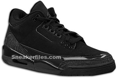 Air Jordan I - XX2 Alpha Omega and III Black Cat