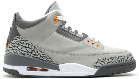 Air Jordan III Cool Grey Release Date Reminder