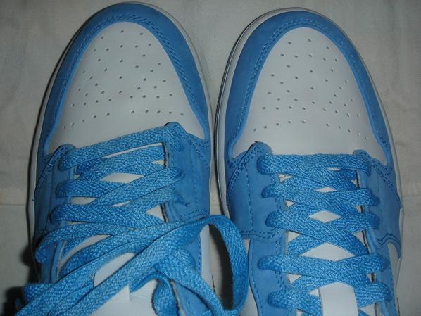 Air Jordan Retro I White Caro Blue Sample  d4fad9ade