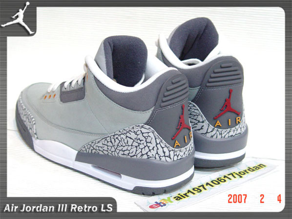 Air Jordan Retro Iii Cool Grey Final Product Kicksonfire Com