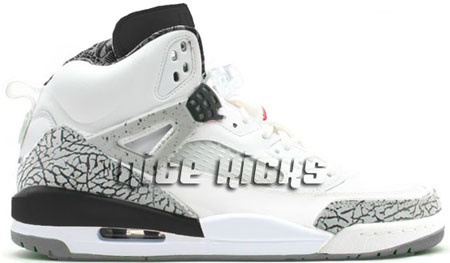 New Air Jordan Spizike White/Cement