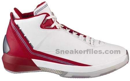 Air Jordan XX2 White/Red New Pictures