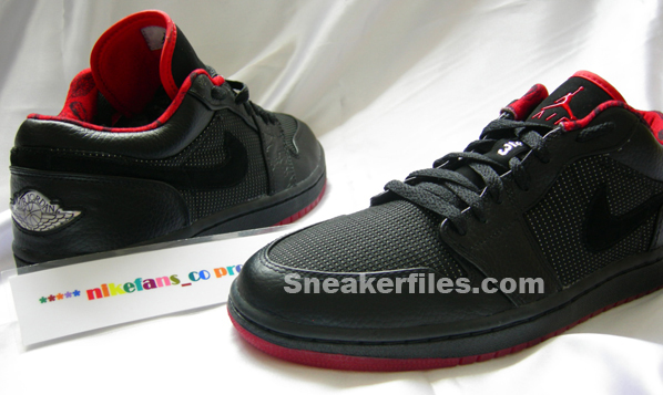 Air Jordan Retro I Low Black/Red