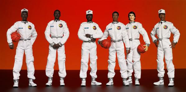 Nike AF1 x Medicom Original Six Player Figures