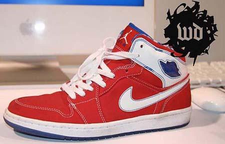 Air Jordan Retro I Red/White/Blue