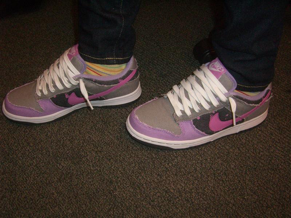 New Womens Nike Denim Dunks