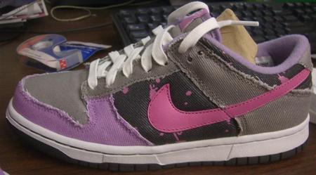 New Womens Nike Denim Dunks