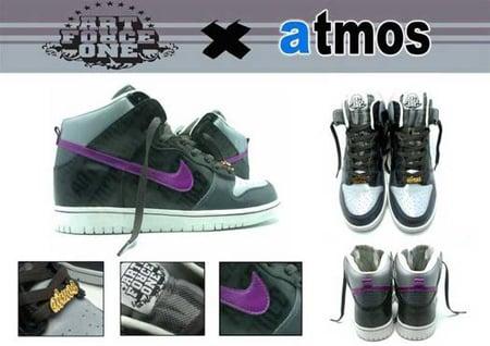 Nike Dunk x Art Force One x Atmos
