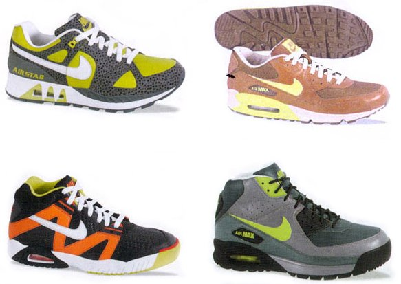 Nike Catalog Pictures - Fall 2007