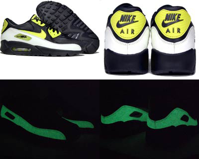 wholesale dealer 2ad5f 25ede Nike Air Max 90 Glow in the Dark at Pickyourshoes
