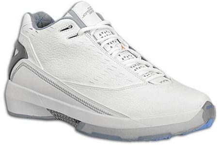 Air Jordan Release Dates XX2 22 White/Orange Blaze-University Blue 5/8