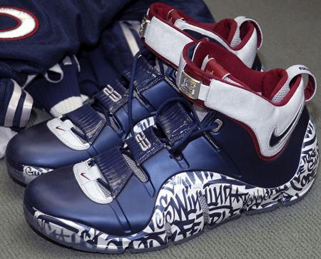 Nike LeBron IV All Star Game PE