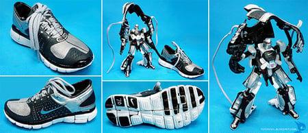 Nike Transformer Action Figures