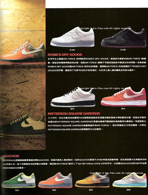 Nike Air Force 1 25th Anniversary City Series Full Preview
