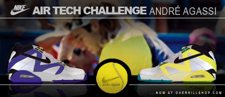 Nike Air Tech Challenge Agassi Retro at Overkill