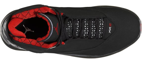 Air Jordan XX2 Black/Red Detailed Look