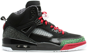 finest selection ac0a3 6f6b9 Air Jordan Spizike Black Varsity Red-Classic Green