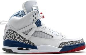 Air Jordan Spizike White/Varsity Red-True Blue