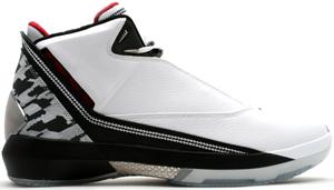 Air Jordan 22 XX2 XXII White/Metallic Silver-Varsity Red