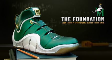 Nike LeBron IV SVSM PE