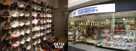 Vote Getta Clue and Shiekh Shoes in Sacramento
