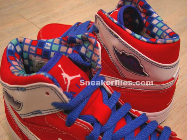 Air Jordan Retro I Undftd White/Red/Blue Vol 2