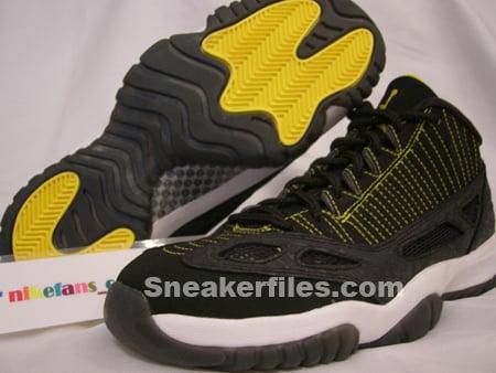 Air Jordan Retro 11 I.E. Black/Maize Vol. 2