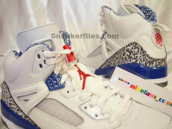 Air Jordan Spizike True Blue Round 2
