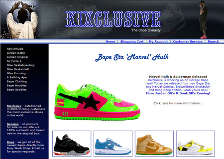 Marvel Comic Bapes At Kixclusive | SneakerFiles
