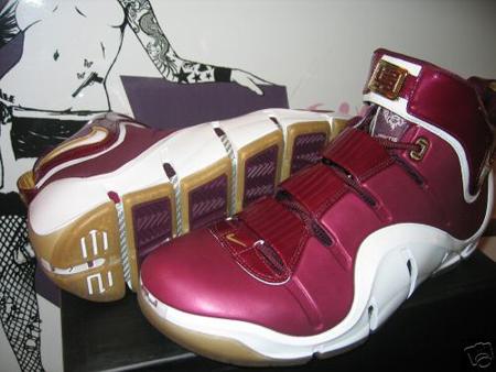 6bbc0205ecfe4 Nike Air Zoom LeBron IV CTK - Christ The King