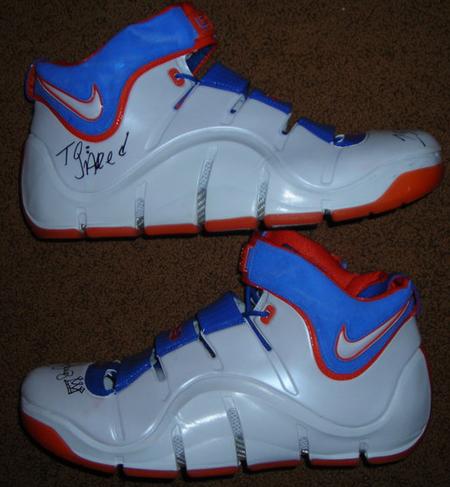 Nike LeBron IV Hardwood Classics PE