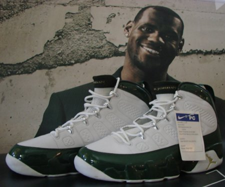 Air Jordan 9 Player Exclusive LeBron James