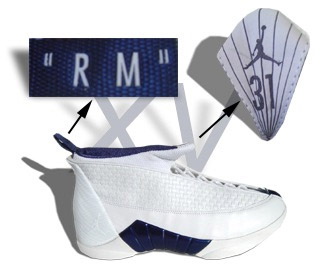 Air Jordan 15 Player Exclusive Reggie Miller