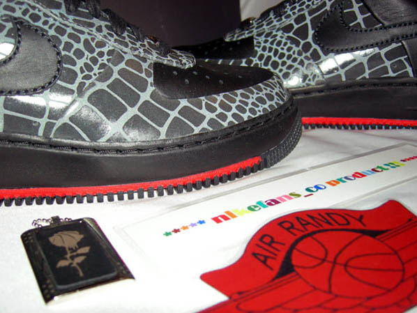 Nike Air Force 1 Croc 3M Reflective Supreme
