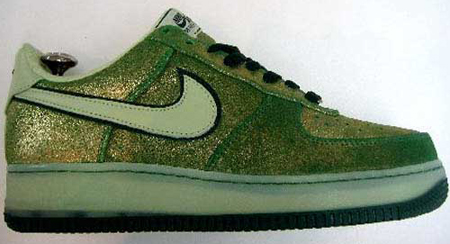 Nike Air Force One St. Patrick's Day 2007