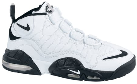 Nike Air Max Sensation LE White/Black/Metallic Silver