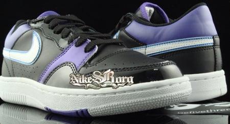Nike Court Force Premium Low Metallic Purple/Black