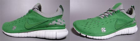 Nike Free 5.0 St. Patrick's Day Wmns