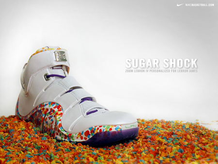 Nike LeBron IV Fruity Pebbles Family Pack PE