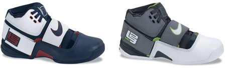 New Nike Zoom Lebron Soldier Colorways