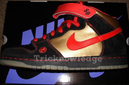 Nike Dunk SB Mid Back Off Evil