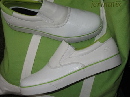 New Nike SB Slip-On White/Lime