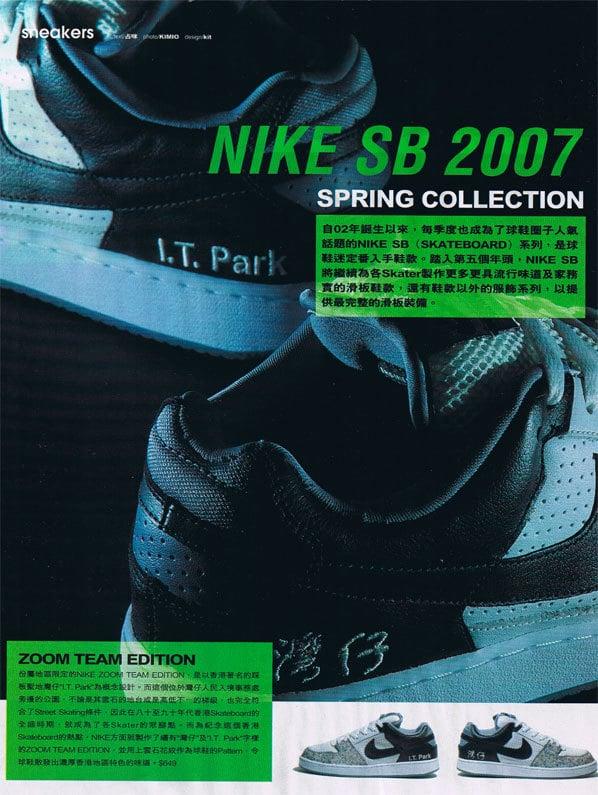 Nike SB IT Park Team Editions