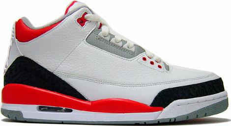"Nike Air Jordan 3 ""White Fire Red"" and Nike Air Max 1 Premium ""Squares""    Purchaze c502cdef64c9"