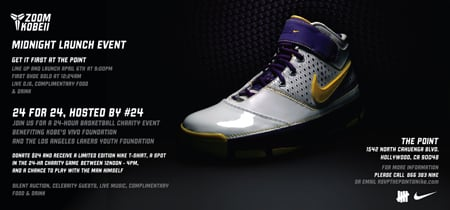 Nike Zoom Kobe II Midnight Event